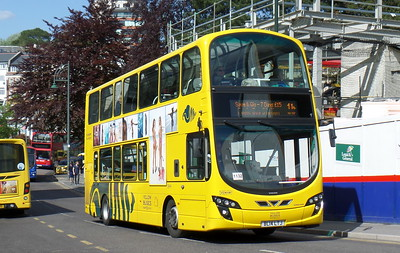 RATP Yellow Buses 190 - BL14LTJ - Bournemouth (Gervis Place)