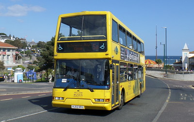 RATP Yellow Buses 423 - HJ02HFG - Bournemouth (seafront)