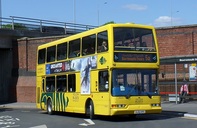 RATP Yellow Buses 421 - HJ02FHE - Bournemouth (railway station)
