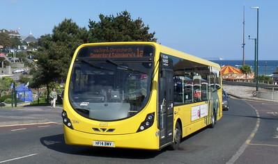 RATP Yellow Buses 864 - HF14BWV - Bournemouth (seafront)