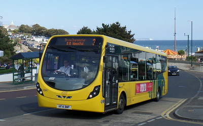 RATP Yellow Buses 862 - HF14BWP - Bournemouth (seafront)