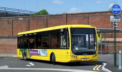 RATP Yellow Buses 11 - R11TYB - Bournemouth (railway station)