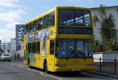 RATP Yellow Buses 416 - Y416CFX - Bournemouth (seafront)