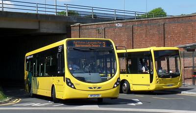 RATP Yellow Buses 854 - HF13FZO - Bournemouth (railway station)