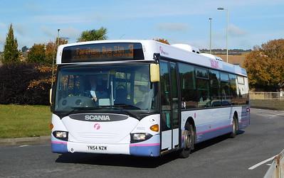 First Solent 65022 - YN54NZW - Portchester