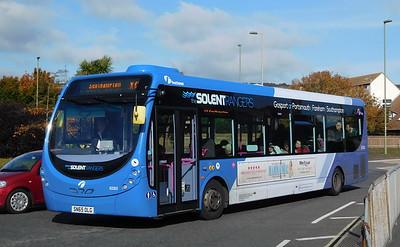 First Solent 63303 - SN65OLG - Portchester