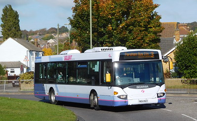 First Solent 65025 - YN54NZZ - Portchester