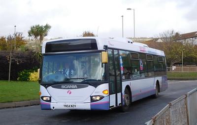 First Solent 65021 - YN54NZV - Portchester