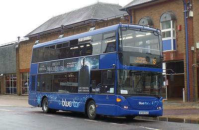 BlueStar 1128 - HF58KCE - Eastleigh (bus station)