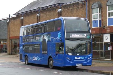 BlueStar 1607 - HF65AYA - Eastleigh (bus station)