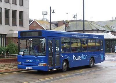 BlueStar 3303 - SN03EBU - Eastleigh (bus station)