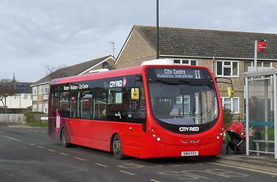 First Southampton 47596 - SN14FEV - Weston (Kingsclere Avenue)
