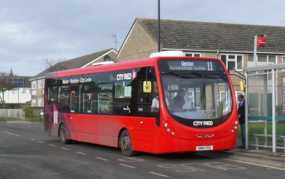 First Southampton 47595 - SN14FEU - Weston (Kingsclere Avenue)