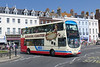 First Wessex 37581 - HX08DHF - Weymouth (King's Statue) - 21.6.14