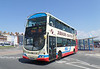 First Wessex 37582 - HX08DHK - Weymouth (King's Statue) - 21.6.14