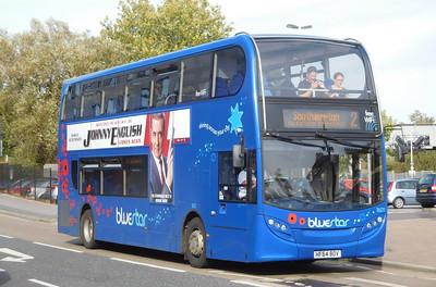 BlueStar 1601 - HF64BOV - Eastleigh (railway station)