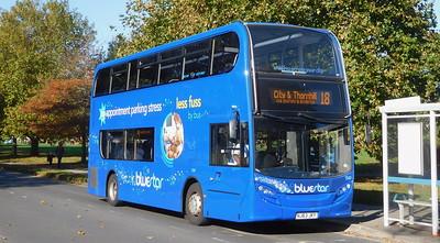 BlueStar 1549 - HJ63JKY - Millbrook (Kendal Avenue)