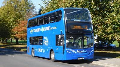 BlueStar 1563 - HJ63JNO - Millbrook (Kendal Avenue)