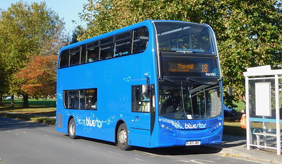 BlueStar 1558 - HJ63JMX - Millbrook (Kendal Avenue)