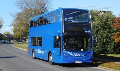 BlueStar 1555 - HJ63JMO - Millbrook (Kendal Avenue)