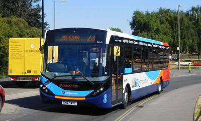 Stagecoach in Portsmouth 26149 - SN67WVT - Havant (Park Road North)
