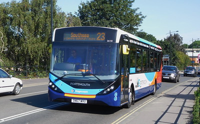 Stagecoach in Portsmouth 26150 - SN67WVU - Havant (Park Road North)