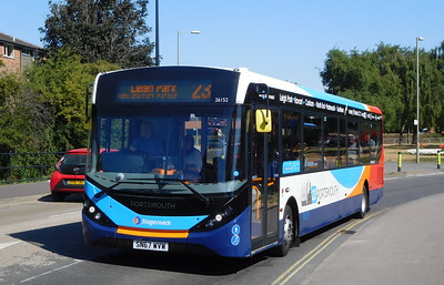 Stagecoach in Portsmouth 26152 - SN67WVW - Havant (Park Road North)