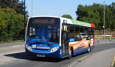 Stagecoach in Portsmouth 36827 - GX62BBU - Havant (Park Road North)