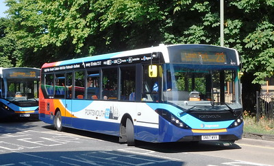 Stagecoach in Portsmouth 26151 - SN67WVV - Havant (Elm Lane)