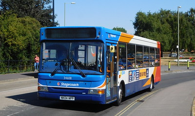 Stagecoach in Portsmouth 34608 - NK04NPP - Havant (Park Road North)