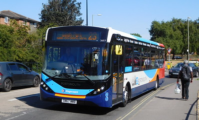 Stagecoach in Portsmouth 26157 - SN67WWB - Havant (Park Road North)