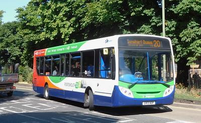 Stagecoach in Portsmouth 27870 - GX13AOP - Havant (Elm Lane)