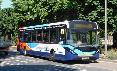Stagecoach in Portsmouth 26156 - SN67WWA - Havant (Elm Lane)