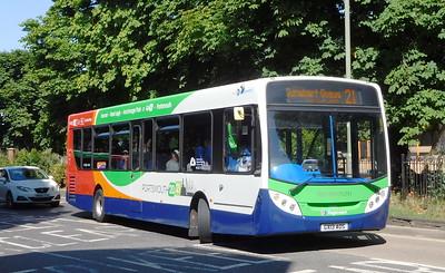 Stagecoach in Portsmouth 27872 - GX13AOS - Havant (Elm Lane)