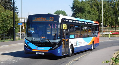 Stagecoach in Portsmouth 26156 - SN67WWA - Havant (Park Road North)