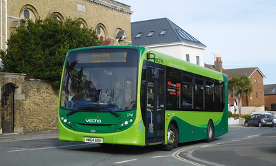 Southern Vectis 2716 - HW64AXH - Cowes (Terminus Road)