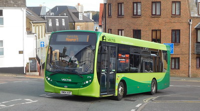 Southern Vectis 2714 - HW64AXF - Cowes (Terminus Road)