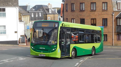Southern Vectis 2711 - HW64AXB - Cowes (Terminus Road)