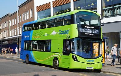 Brighton & Hove 927 - BX15ONB - Eastbourne (Terminus Road)