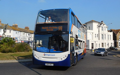 Stagecoach East Kent 15500 - GN09BCU - Eastbourne (Memorial Roundabout)