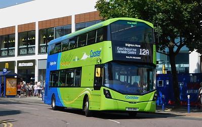Brighton & Hove 942 - BX15ONU - Eastbourne (Terminus Road)