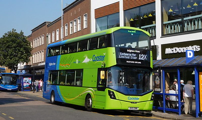 Brighton & Hove 935 - BX15ONM - Eastbourne (Terminus Road)