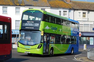 Brighton & Hove 932 - BX15ONJ - Eastbourne (Memorial Roundabout)