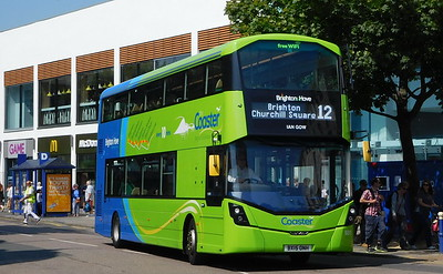 Brighton & Hove 931 - BX15ONH - Eastbourne (Terminus Road)