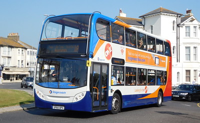 Stagecoach East Kent 19654 - SP60DPX - Eastbourne (Memorial Roundabout)
