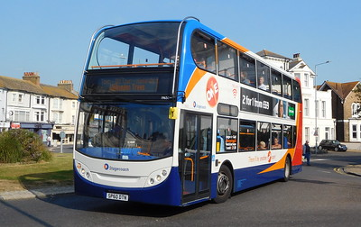 Stagecoach East Kent 19650 - SP60DTN - Eastbourne (Memorial Roundabout)