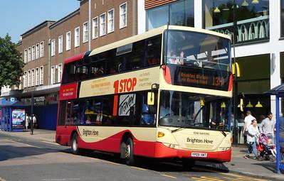Brighton & Hove 730 - YP09HWT - Eastbourne (Terminus Road)