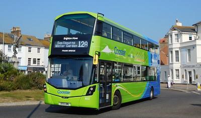 Brighton & Hove 922 - BX15OMU - Eastbourne (Memorial Roundabout)