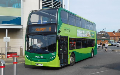 Southern Vectis 1594 - HW63FHR - Newport (bus station)