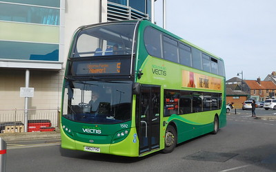 Southern Vectis 1592 - HW63FHO - Newport (bus station)